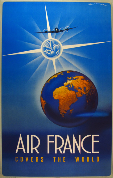 Air France Covers the World by E. Maurus