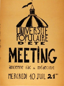 Universite Populaire d'Ete Meeting