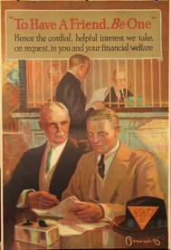 To Have A Friend, Be One Banking Poster