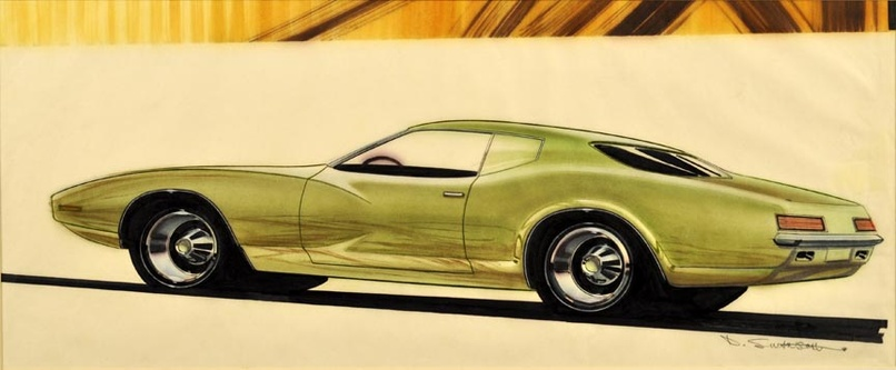 Plymouth Concept Art Original Art Limited Runs