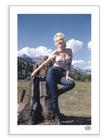 Marilyn Monroe:  Jasper National Park 1