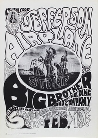 Jefferson Airplane & Big Brother and the Holding Company, Fillmore Auditorium