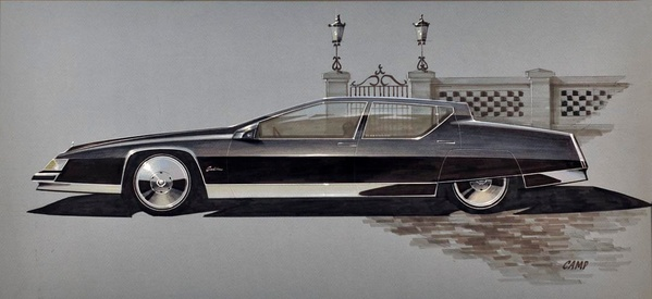Cadillac Fleetwood Concept Design by Camp