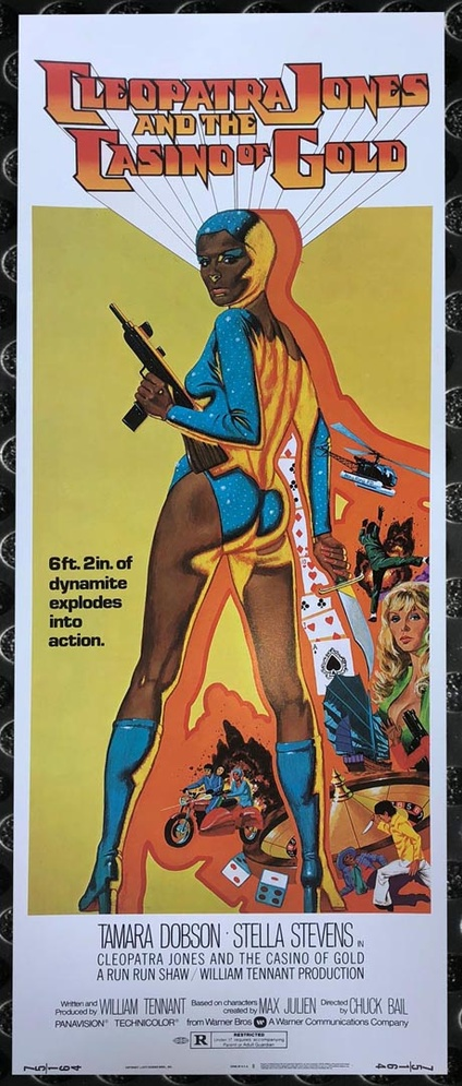 Cleopatra Jones And The Casino Of Gold Insert Movie Posters Limited Runs
