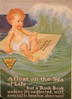 A Float On The Sea Of Life Banking Poster