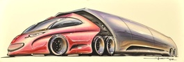 Concept Car Design by Jones No. 3