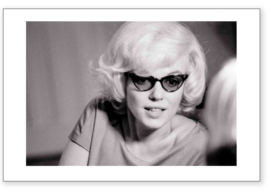 Marilyn Monroe - Sunglasses (Estate Stamped)
