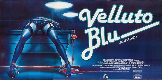 MCP874 Posters USA Blue Velvet Movie Poster Glossy Finish