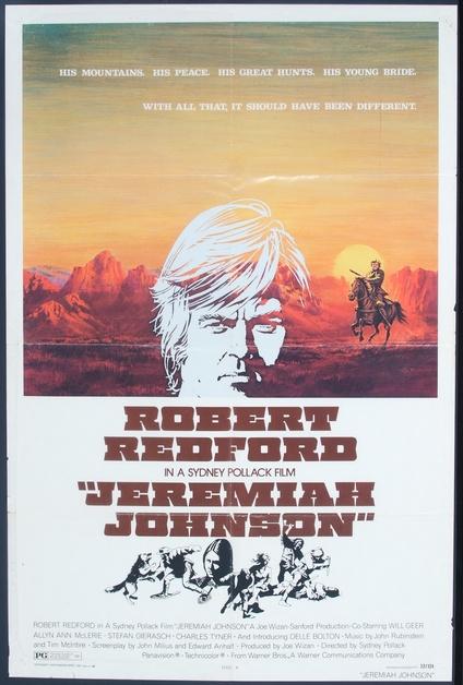 Jeremiah Johnson One Sheet Movie Posters Limited Runs