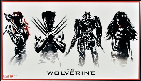 The Wolverine Limited Edition Print