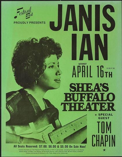 Janis Ian Concert Poster
