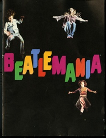 Beatlemania Souvenir Program