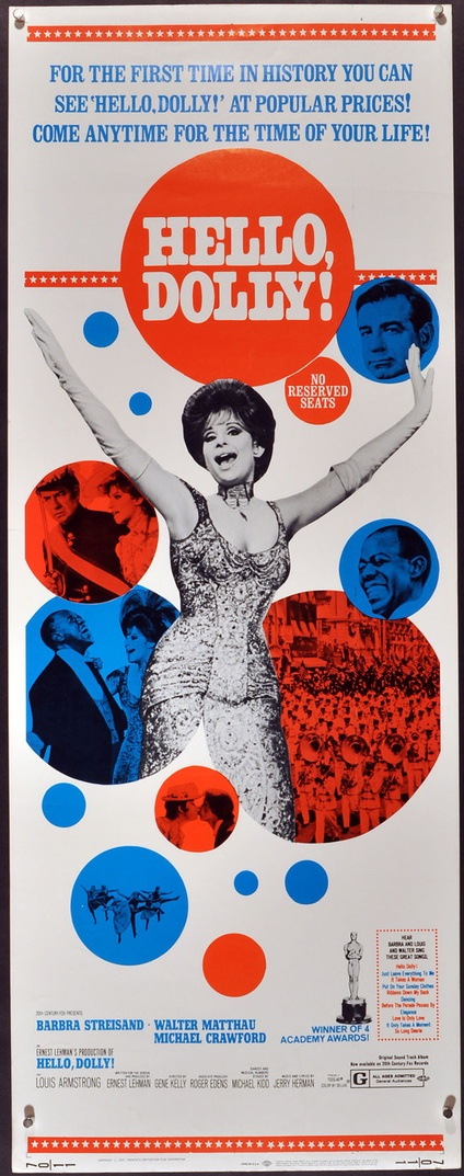 hello dolly insert movie posters limited runs