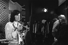 Mick Jagger on the set of Performance 2