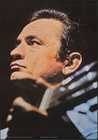 Johnny Cash British Personality Poster