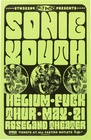 Sonic Youth Concert Poster