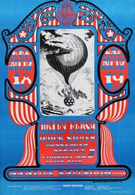 Quicksilver Messenger Service, Country Joe & the Fish and Daily Flash, Avalon Ballroom