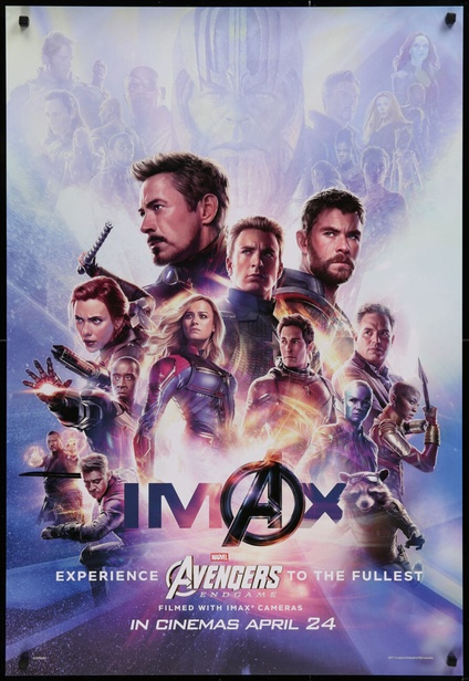Avengers Endgame One Sheet Movie Posters Limited Runs