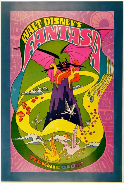 Fantasia Poster Movie Posters Limited Runs