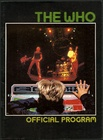 The Who Official Tour Program