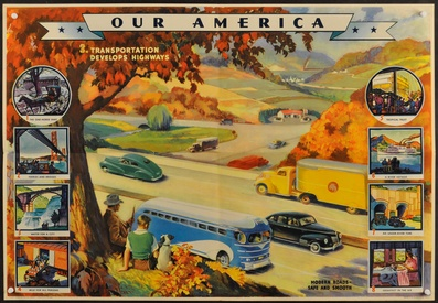 Our America: 3. Transportation Develops Highways