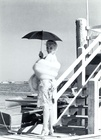 Marilyn Monroe on the set of Some Like It Hot