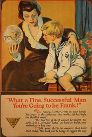 What A Fine Successful Man You're Going To Be Banking Poster