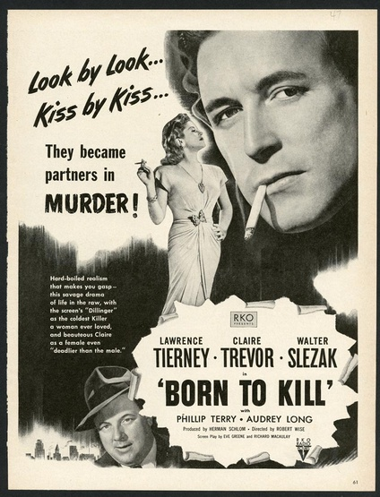 Born To Kill Magazine Ad Movie Posters Limited Runs