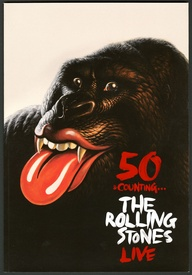 50 & Counting The Rolling Stones Live Tour Program