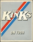 The Kinks - Give The People What They Want Concert Tour Program