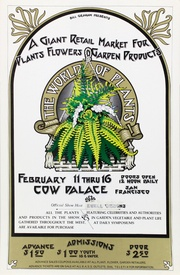Bill Graham Presents: The World of Plants , Washington Square & Cow Palace