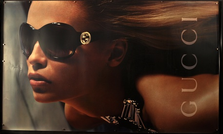 Gucci Eyewear Advertising Poster