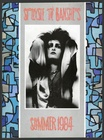 Siouxsie and the Banshees - Hyaena Tour Program