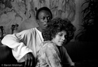 Miles Davis and Betty Davis