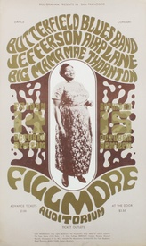 Butterfield Blues Band, Jefferson Airplane & Big Mama Thornton, Fillmore Auditorium