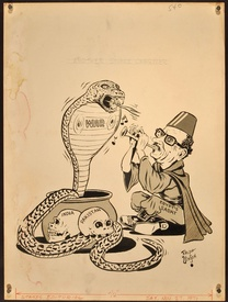 Egypt's Sadat, Another Snake Charmer