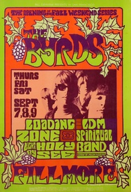 The Byrds, Fillmore Auditorium