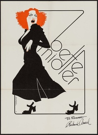 Bette Midler - Miss Divine Tour Personality Concert Poster