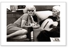 Marilyn Monroe & Carl Sandburg - Guitar (Limited Signed Edition)