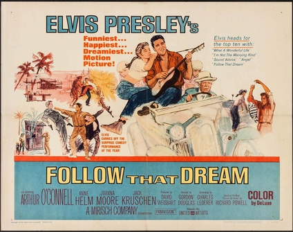 Follow That Dream Half Sheet Movie Posters Limited Runs