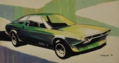 Ford Mustang Mach 1 Concept Art
