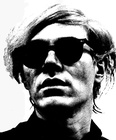 Andy Warhol Head Shot