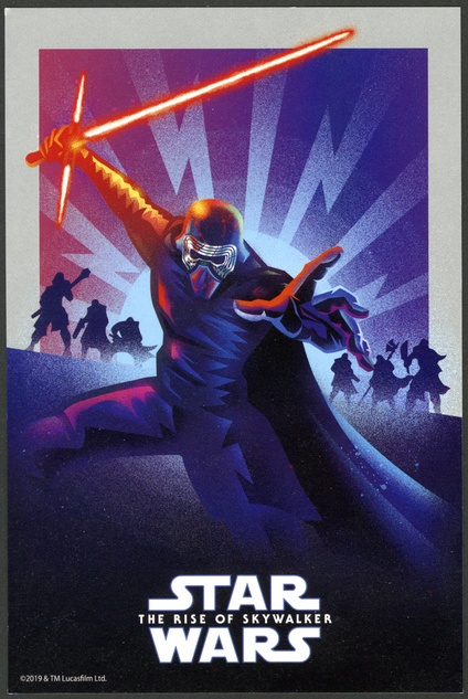 Star Wars Episode Ix The Rise Of Skywalker Promotional Postcard Movie Posters Limited Runs
