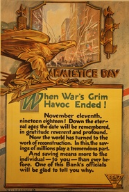 Armistice Day Banking Poster