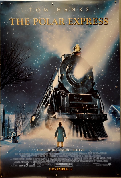 The Polar Express One Sheet Movie Posters Limited Runs