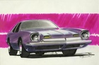 Pontiac Concept Car Art