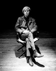 Andy Warhol Seated No Glasses