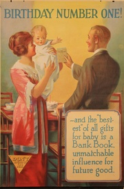 Birthday Number One Banking Poster
