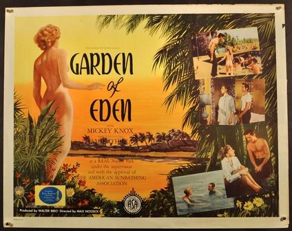 garden of eden half sheet movie posters limited runs
