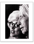 Marilyn Monroe & Carl Sandburg - Profile (Estate Stamped)